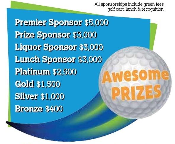 Golf 2018 Sponsorship Opportunities