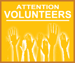 attention volunteers