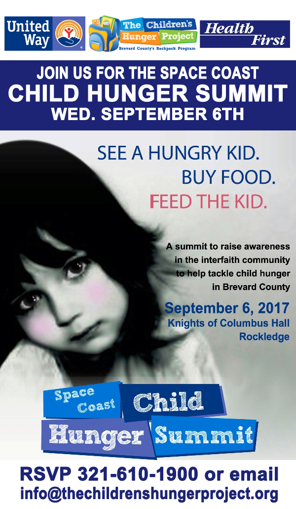 Space Coast Child Hunger Summit