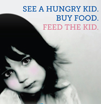 See a Hungry Kid - Buy Food - Feed the Kid